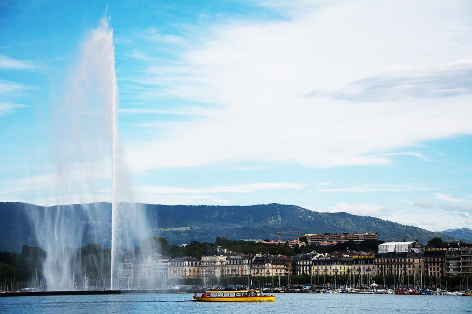 Activité aquatique Genève