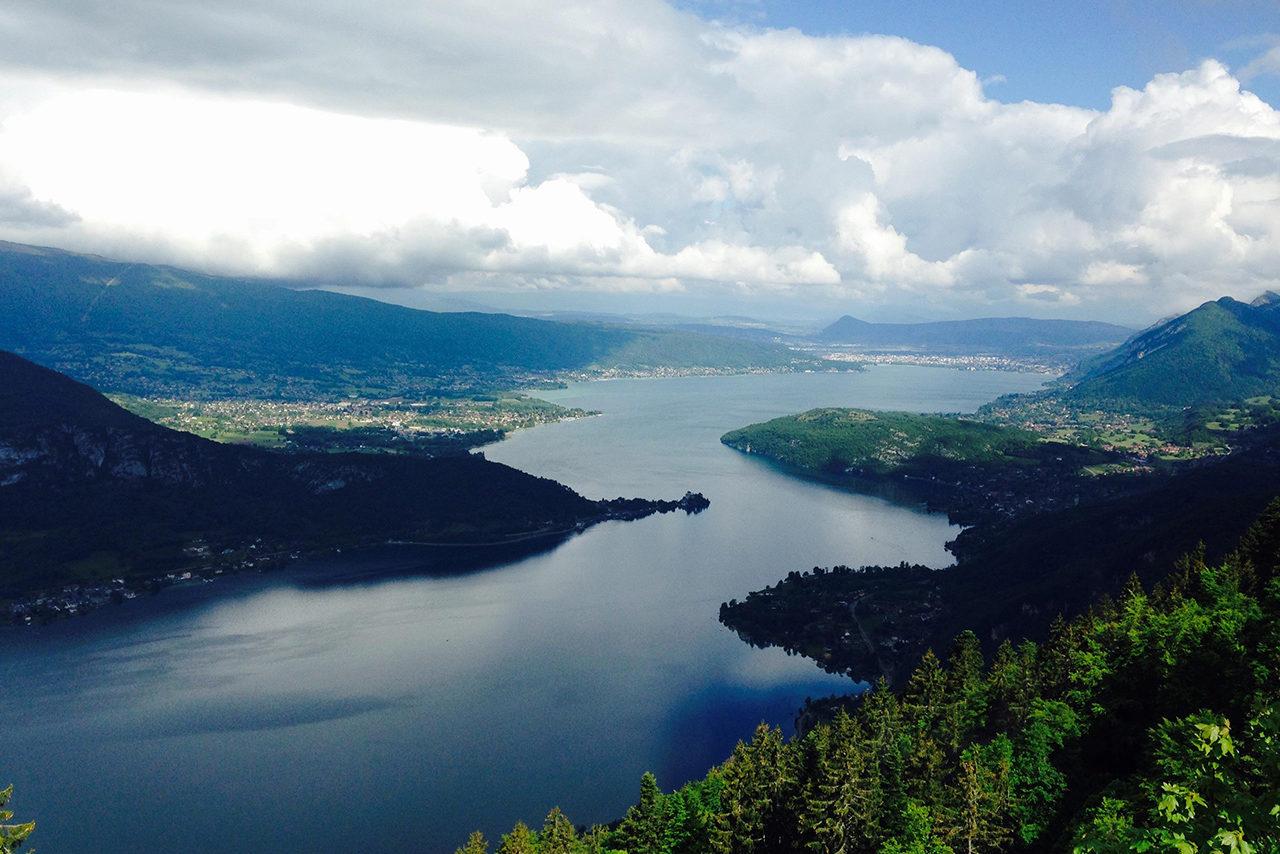 Activité montagne lac