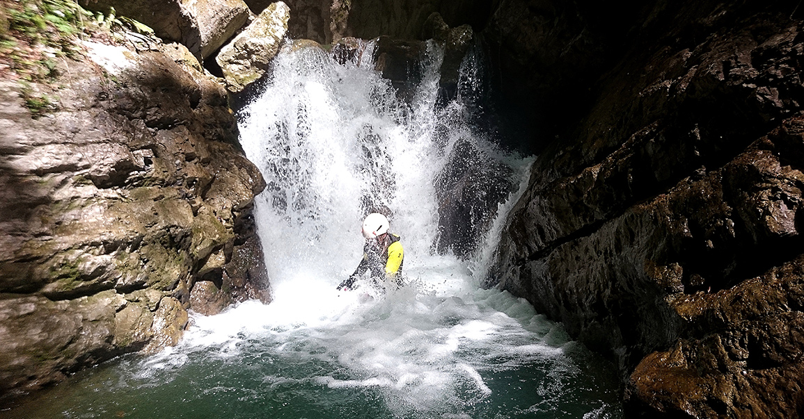 Canyoning à Annecy