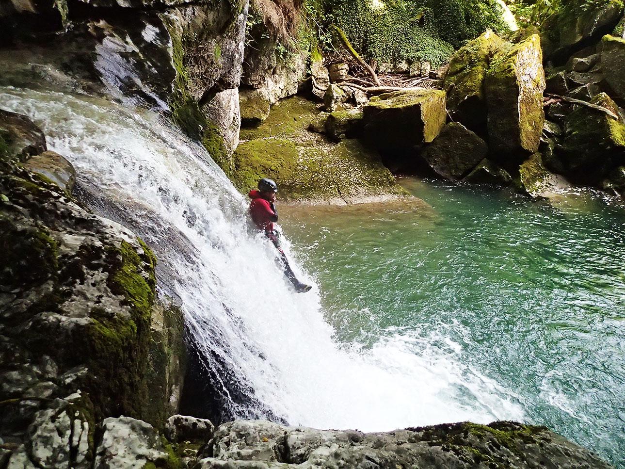 canyoning du groin