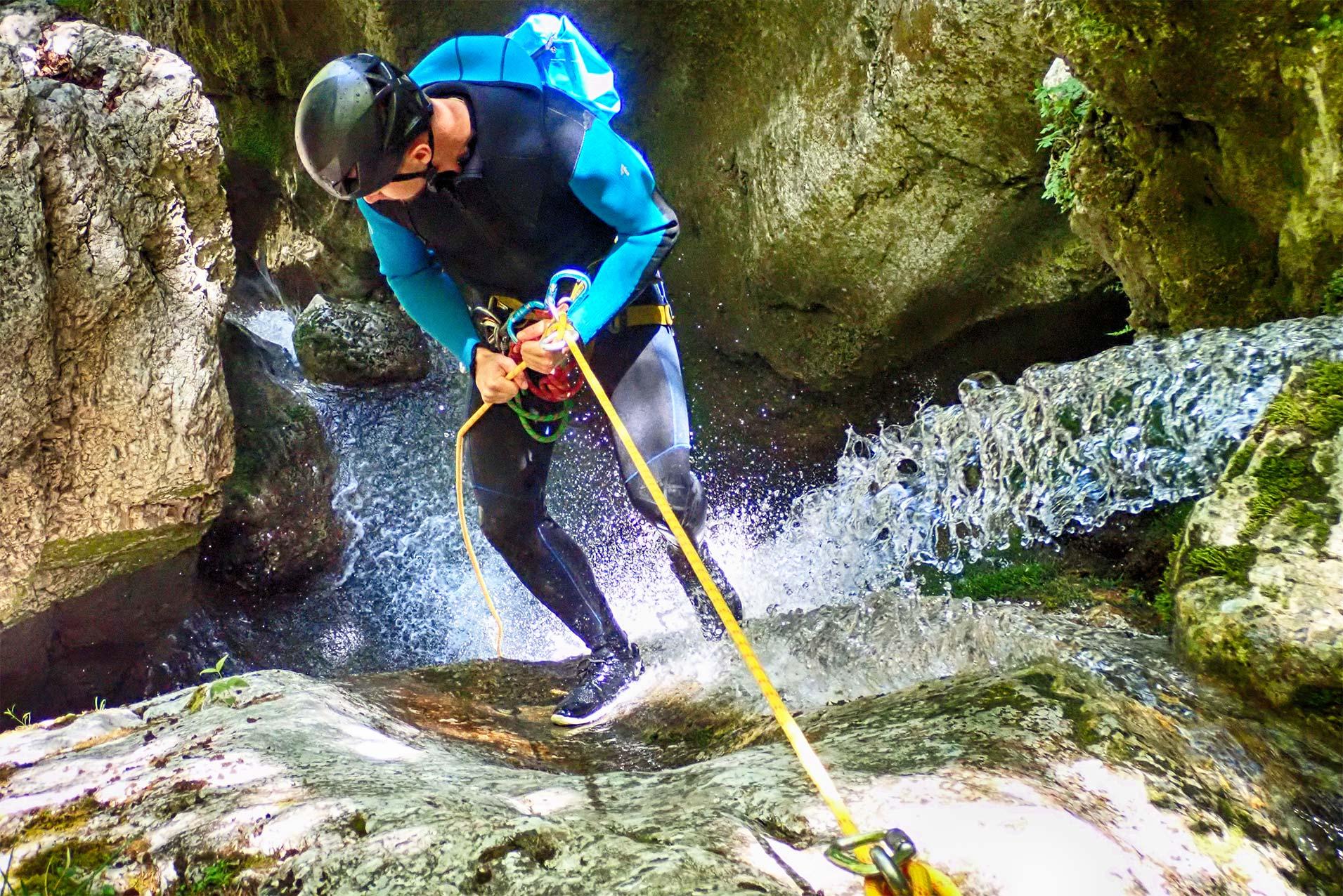 Canyoning aventure