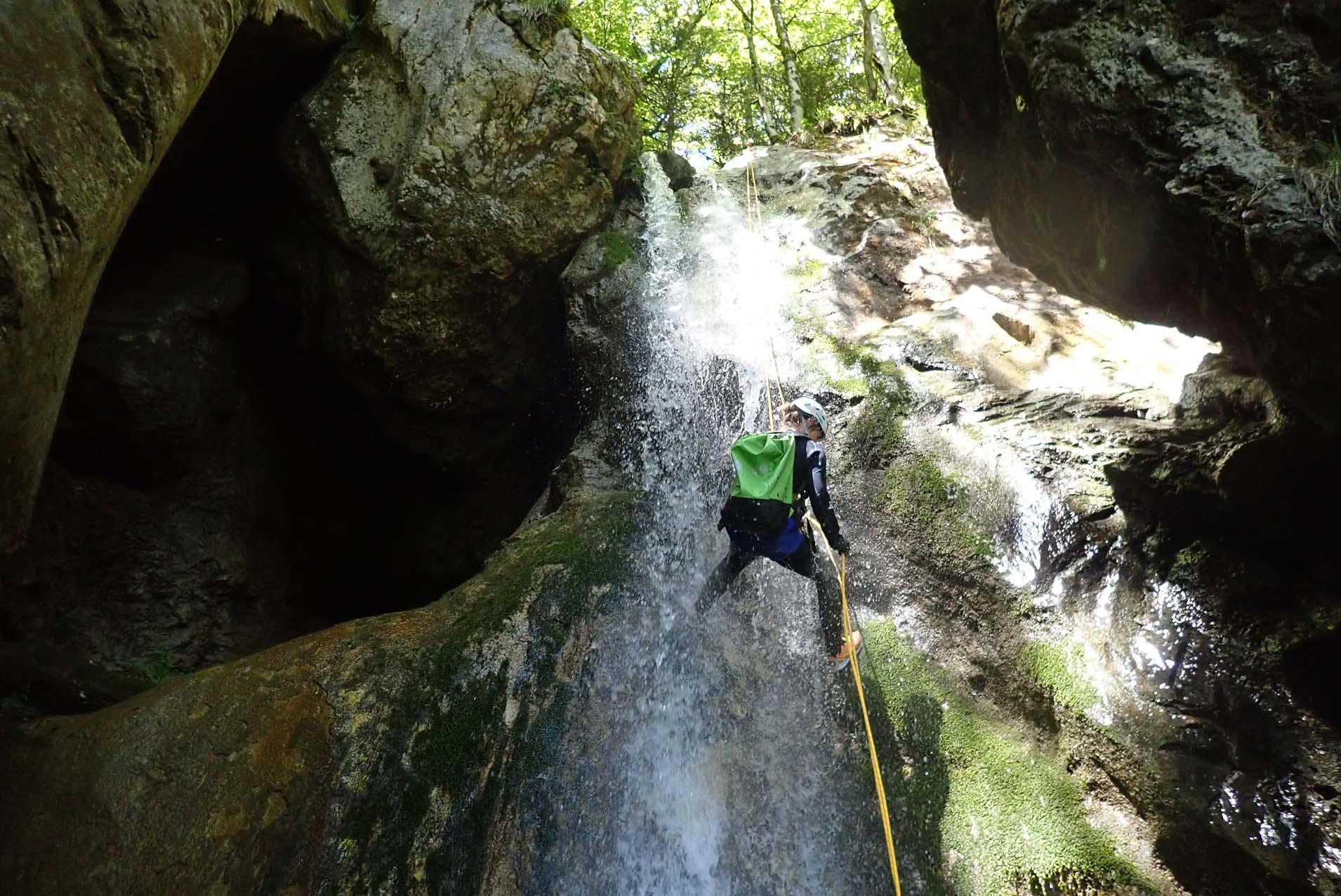 Canyoning Doussard activité