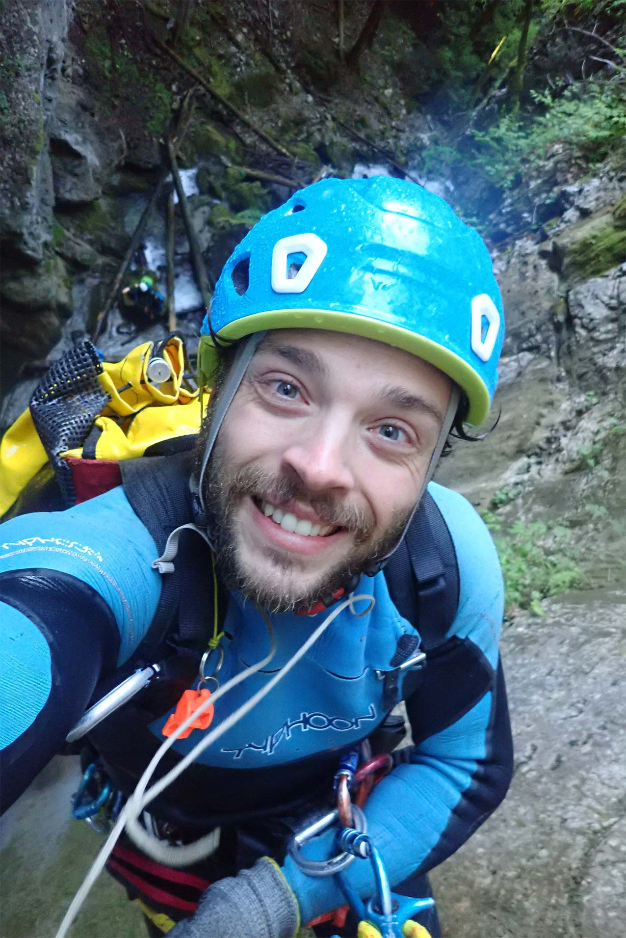guide canyoning au lac d'annecy