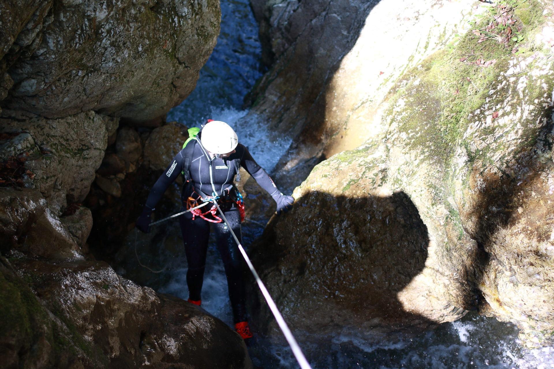 Canyon du Sierroz