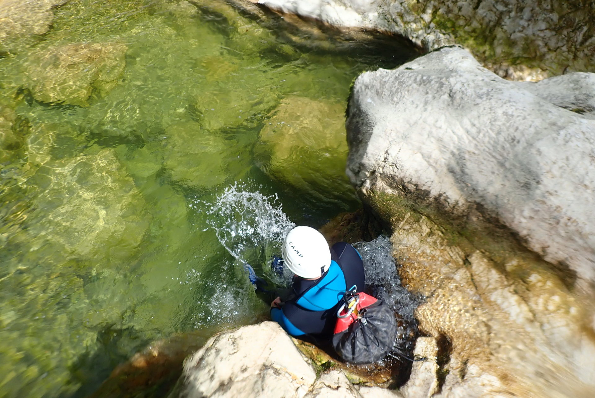 Canyoning dans l'ain