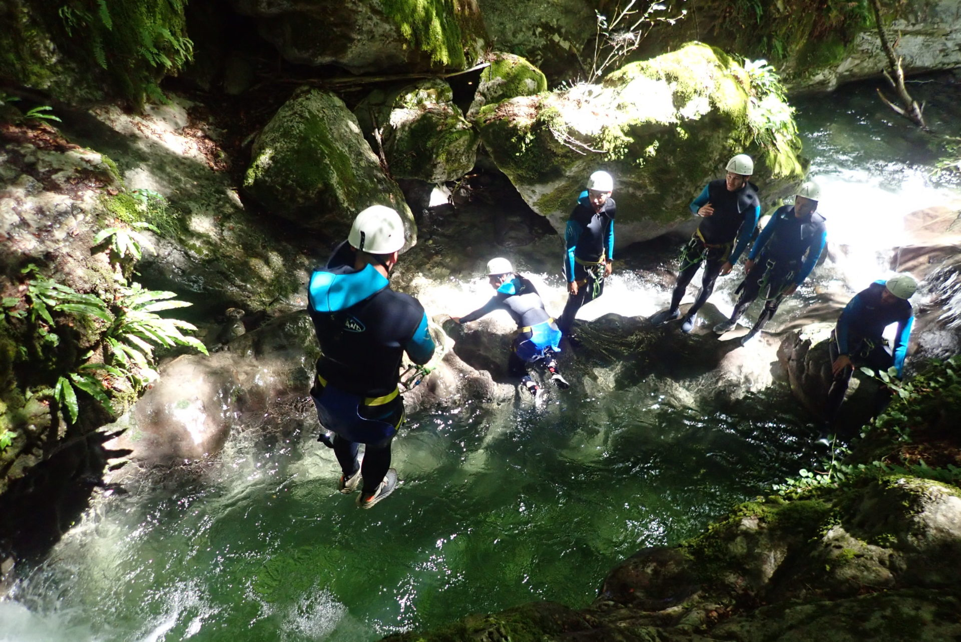Canyoning lac Annecy